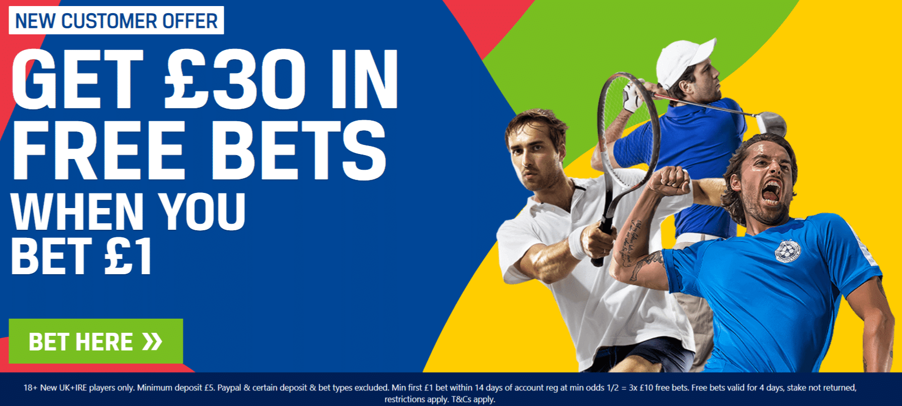 Free bet Codes (valid for Apr 2021)
