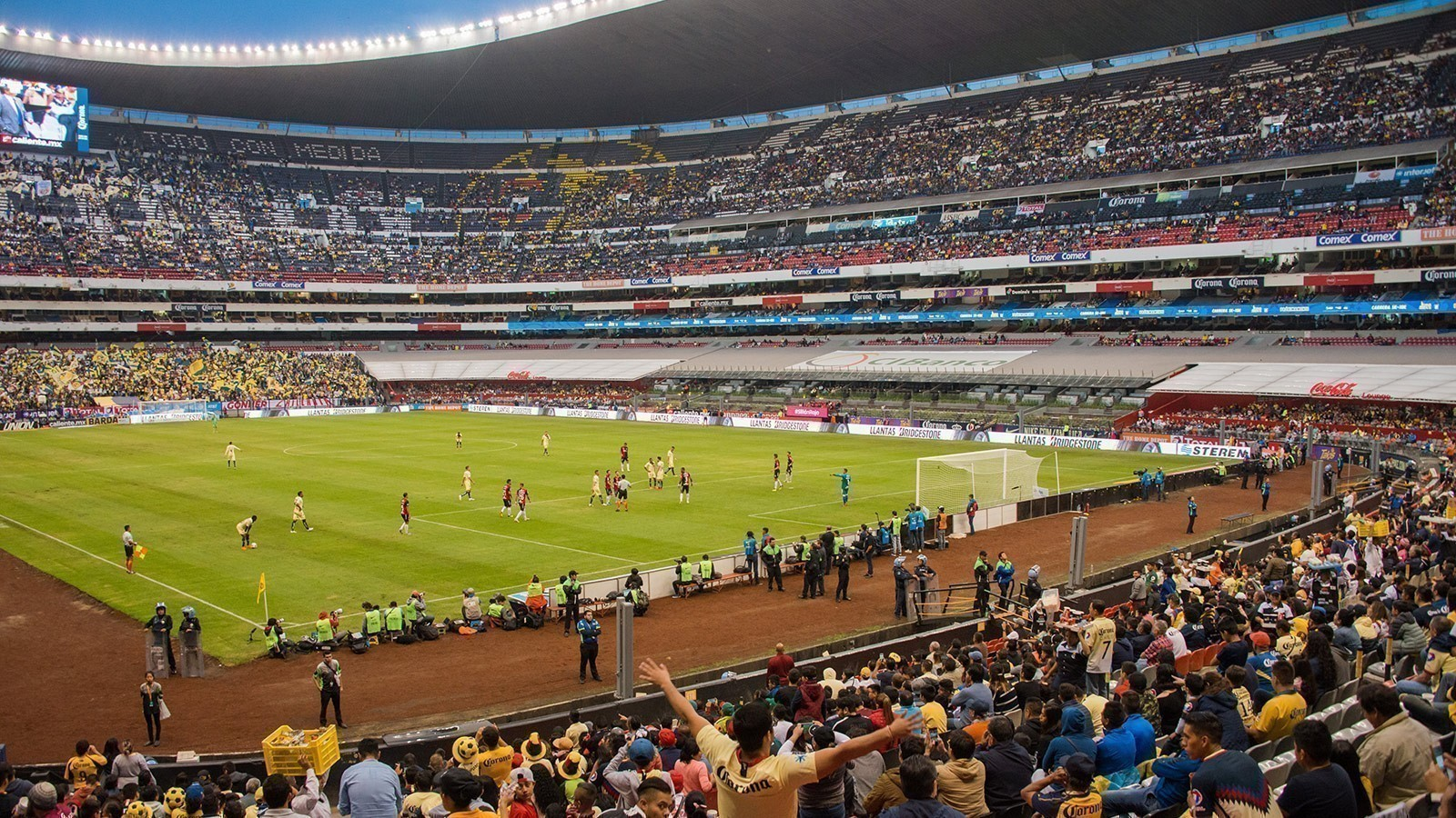 Ground Layout of Azteca Stadium