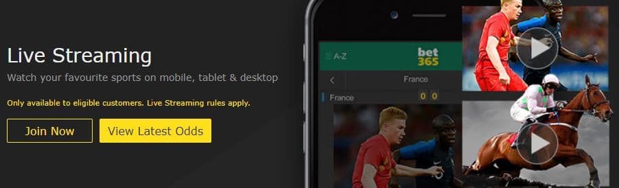 Bet365 Live Stream: A guide to watch football games