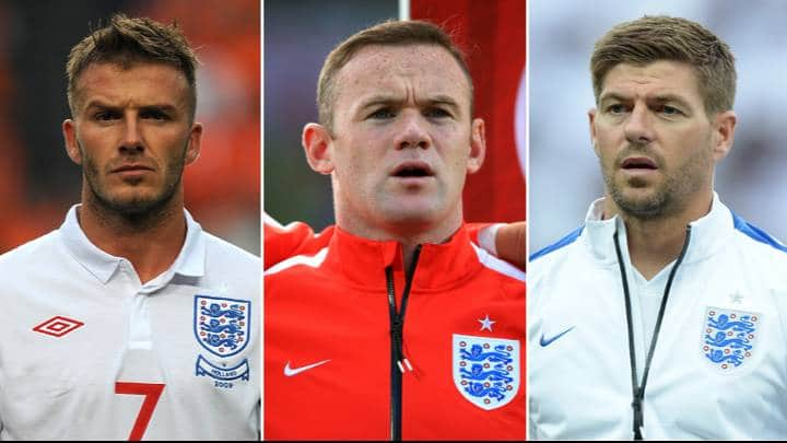 England's most capped starting eleven