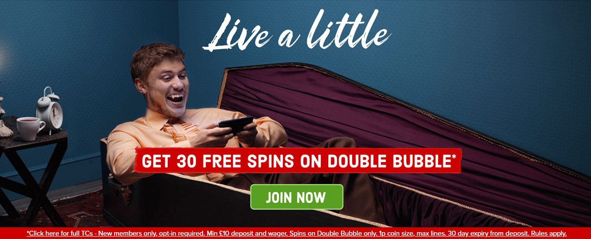 Best Casino free spins offers in the UK
