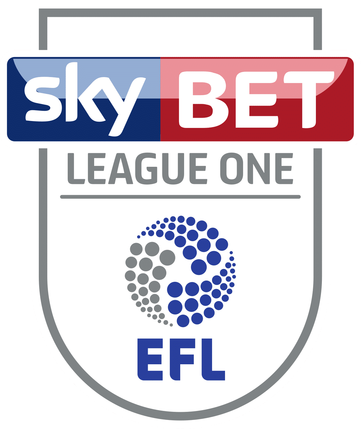 League One / Football Grounds Map