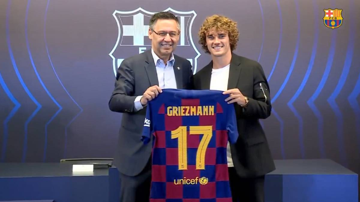 What's happened to Antoine Griezmann?