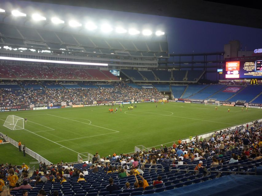 Gillette Stadium - New England Revolution2