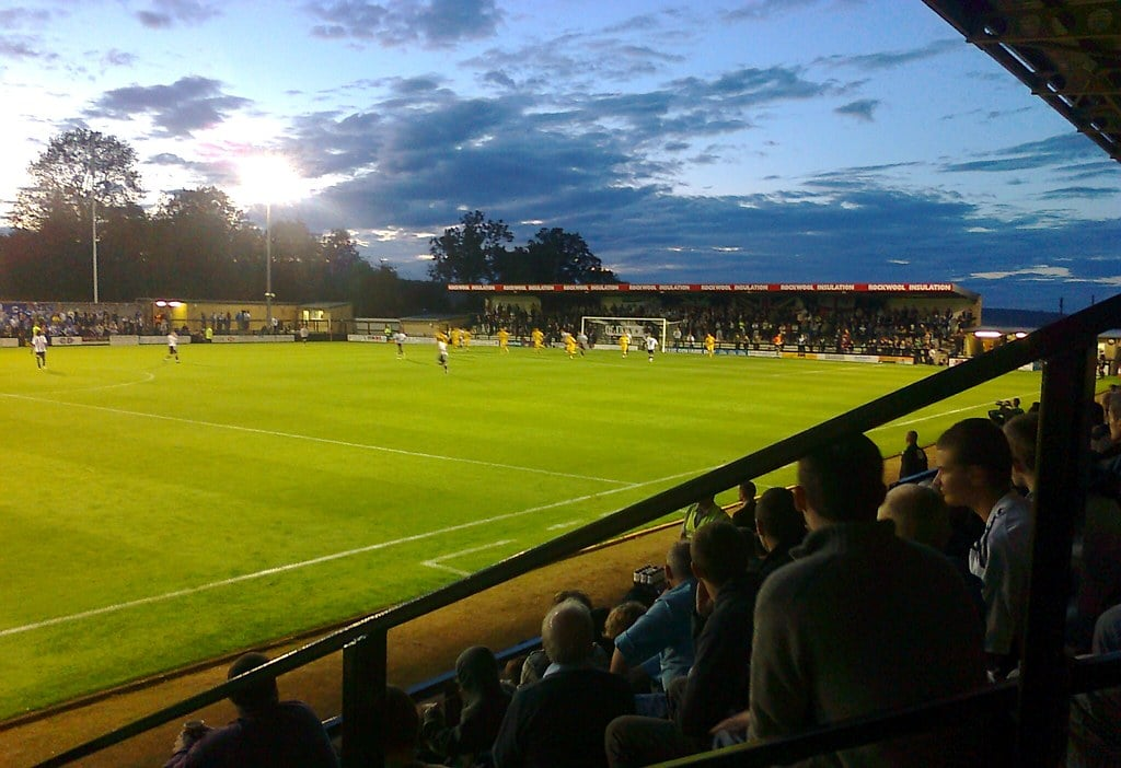 Eco-friendly football stadiums: Forest Green Rovers