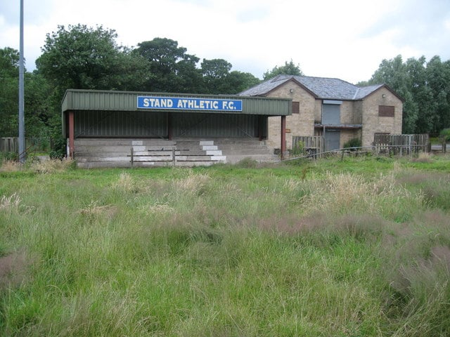 Abandoned football grounds: Before and after