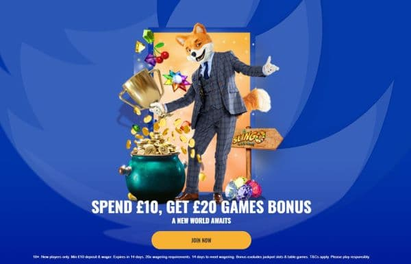 foxy games welcome offer