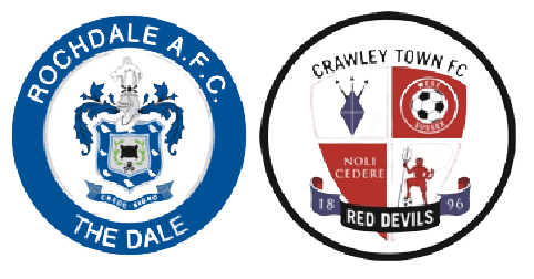 Rochdale vs Crawley Prediction, Odds and Free Betting Tips (09/10/2021)