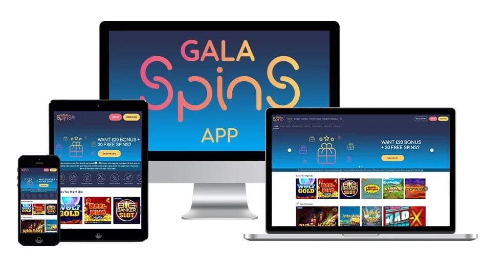 gala spins apps